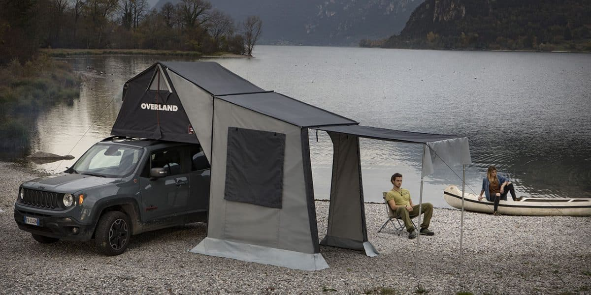 Autohome Overland rood top tent