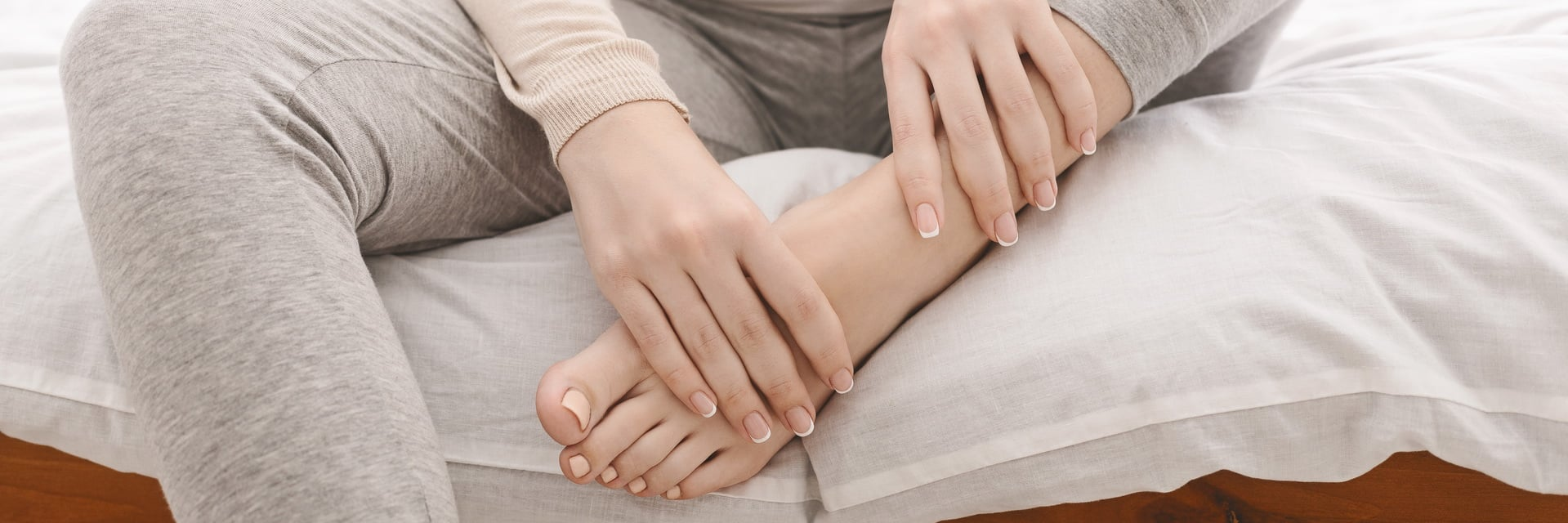 la ritenzione idrica colpisce le zone declivi del corpo come ad esempio le caviglie